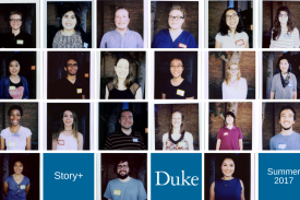 Five Story+ teams with undergraduates and grad students mentors