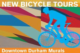 New Bicycle Tours: Downtown Durham Murals