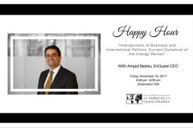 Happy Hour with Amjad Bseisu | Poster