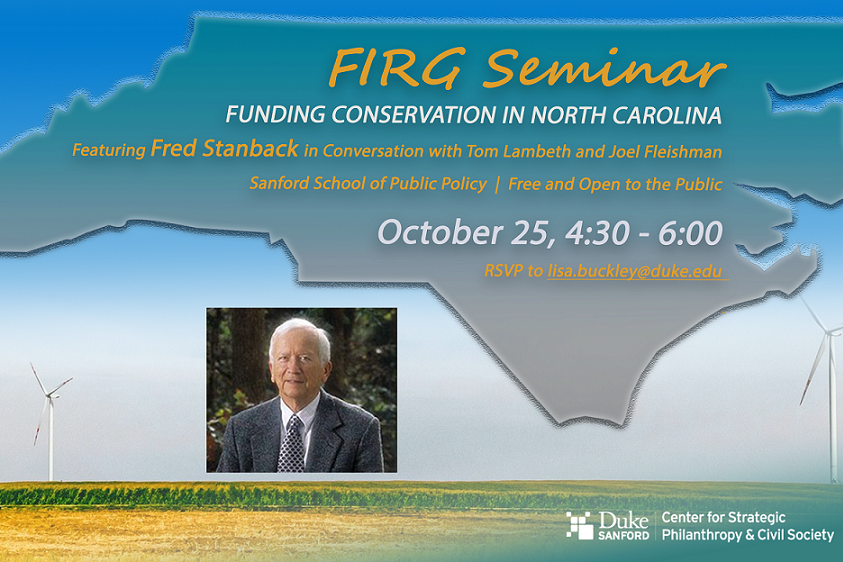 FIRG Seminar with Fred Stanback