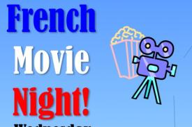 French Movie Night Flyer
