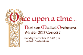 Once Upon a Time: Sunday, December 10, 3:00pm, Baldwin Auditorium