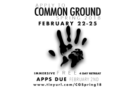 Common Ground Application Deadline