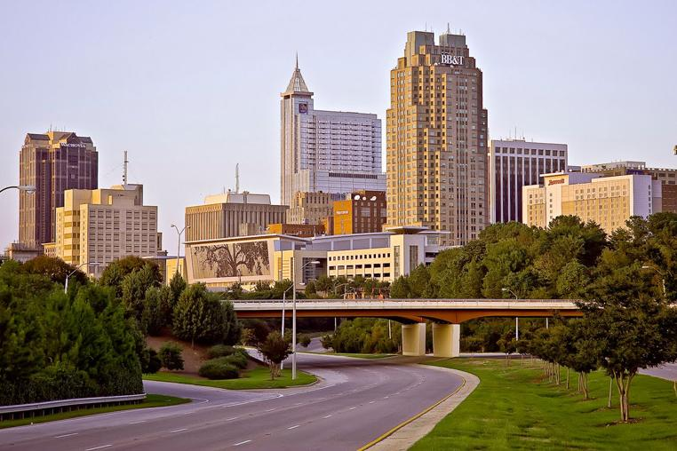 Raleigh Skyline | Hughes Photography