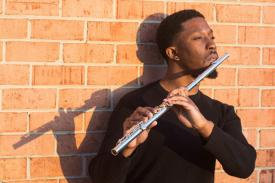 Flutist DeShaun Gordon-King