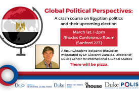 Global Political Perspectives: Egypt