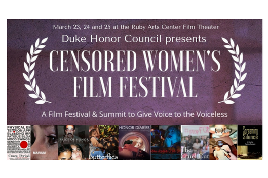 Duke Honor Council presents Censored Women's Film Festival