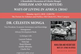Nihilism and Negritude