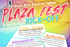 Plaza Fest Kick-Off Event