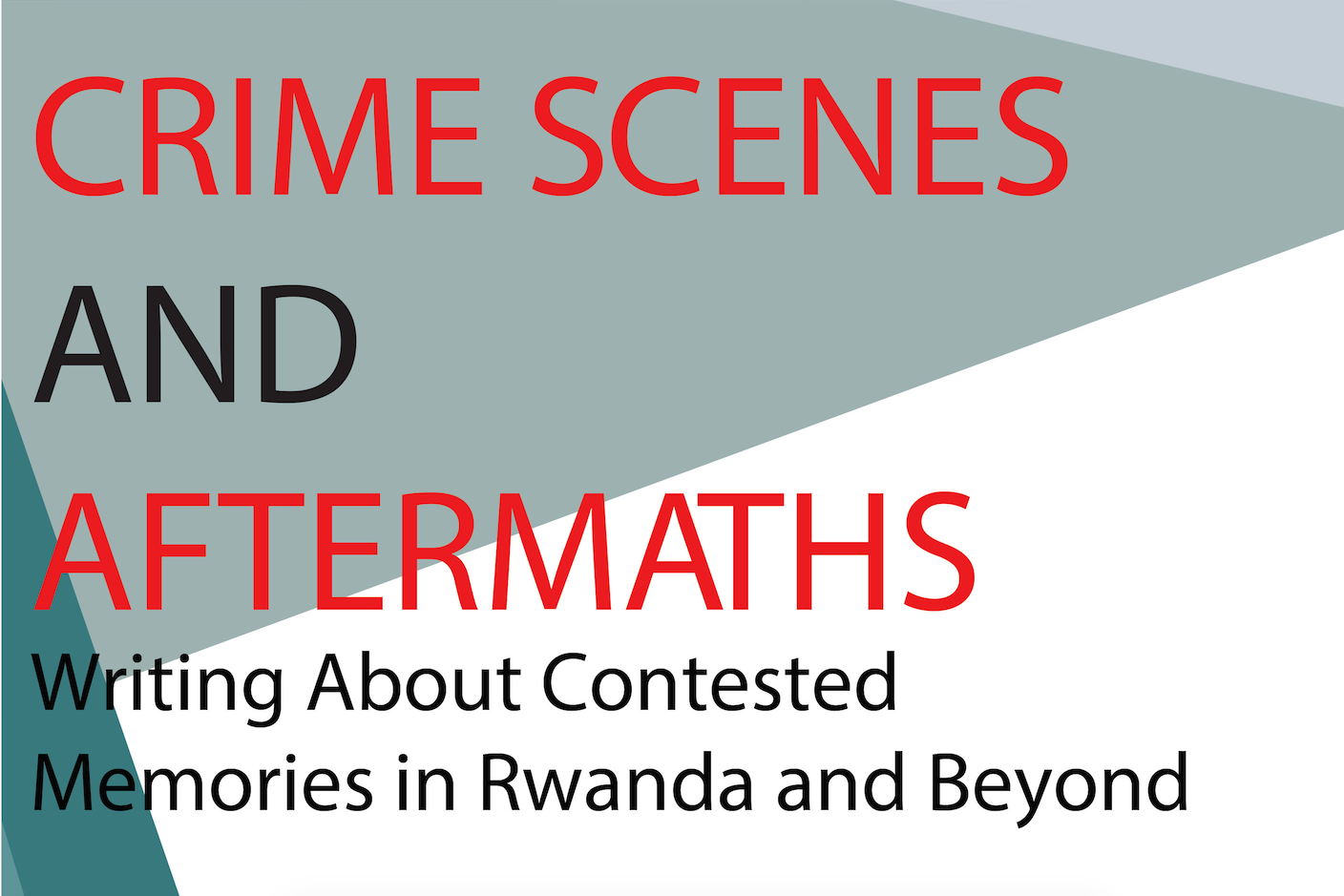 Crime Scenes and Aftermaths
