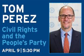 DNC Chair Tom Perez to speak at Duke