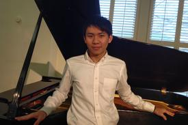 Piano soloist Jerry Chia-Rui Chang