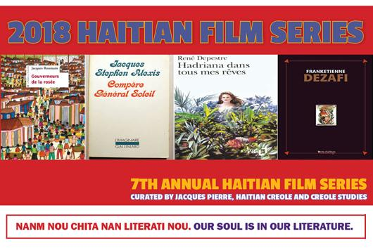 image of Haitian literature for Haitian Film Festival