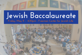 Jewish Baccalaureate Ceremony at the Freeman Center for Jewish Life
