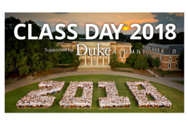 Class Day 2018 supported by Duke Alumni
