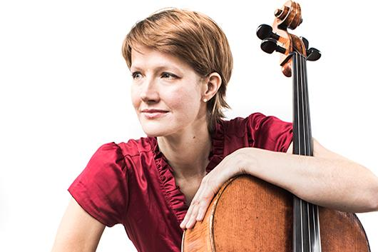 Cellist Caroline Stinson