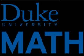 Duke Math Logo