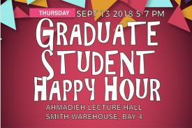 Graduate Student Happy Hour