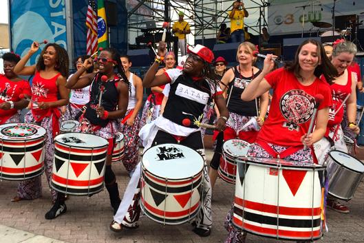 photo of Batala performers