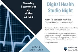 Digital Health Studio Night