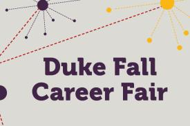 Duke Fall Career Fair logo