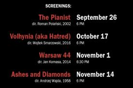 Screening dates & times