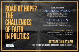 Road of Hope? The Challenges of Faith in Politics