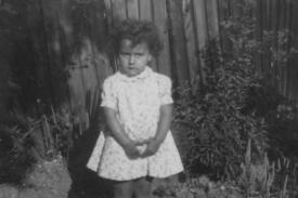 Image of Hazel Carby as a small child