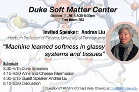 Duke Soft Matter Seminar Flyer