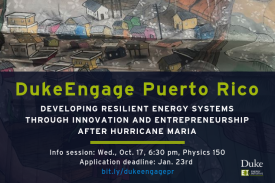 Duke Engage in Puerto Rico Information Session