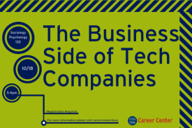 The Business Side of Tech Companies flyer