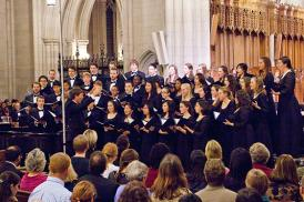 Duke Chorale in Duke Chapel