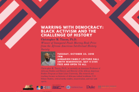 Warring with Democracy: Black Activism and the Challenge of History