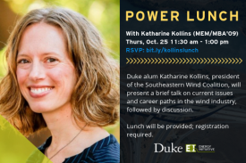 Power Lunch with Katharine Kollins