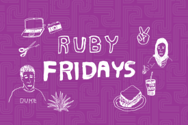 cute Ruby Fridays poster