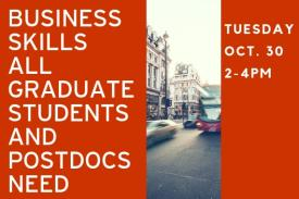Business Skills All Graduate Students