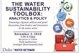 Duke Water Network Fall Symposium 2018