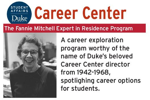 Fannie Mitchell Expert in Residence