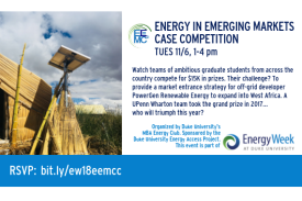 Energy in Emerging Markets Case Competition