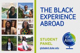 The Black Experience Abroad: Student Panel