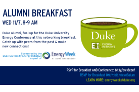 Energy Week Alumni Breakfast