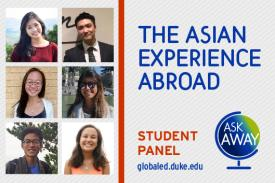 The Asian Experience Abroad flyer