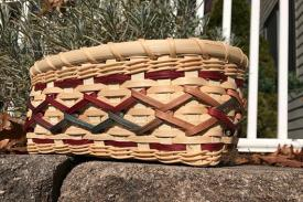 example of a rectangular basket by Lu Howard