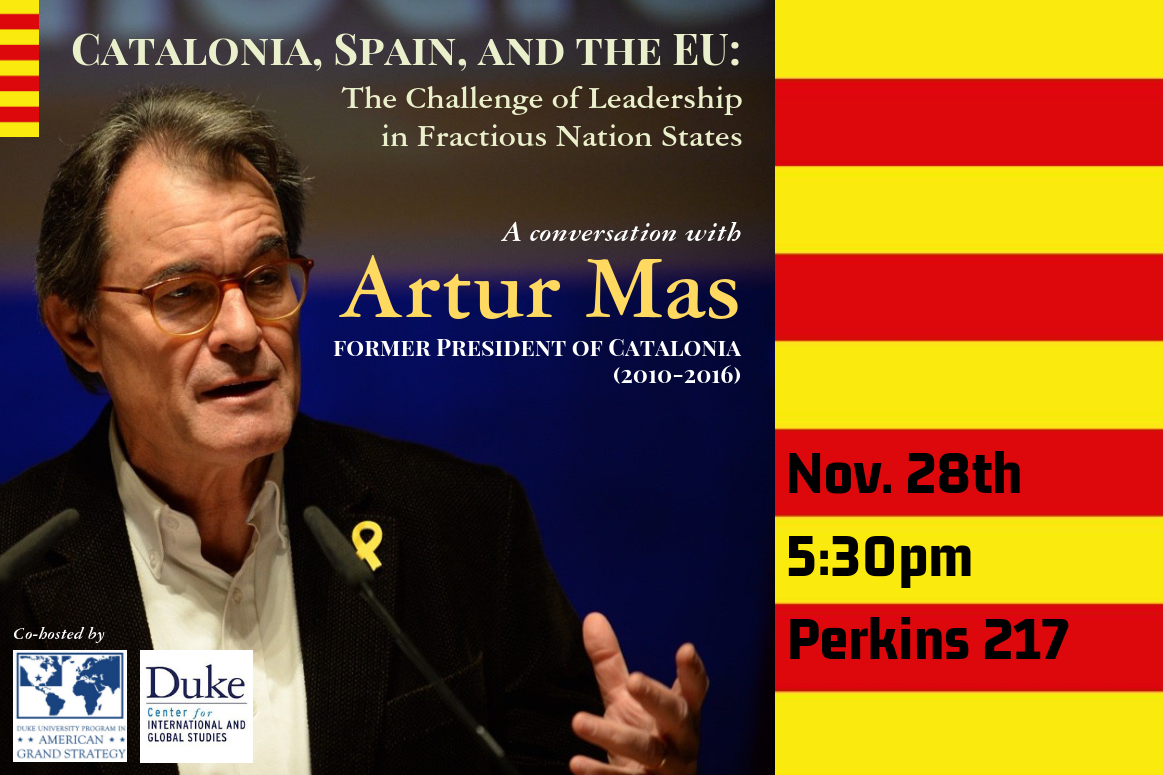 Catalonia, Spain, and the EU: The Challenge of Leadership in Fractious Nation States