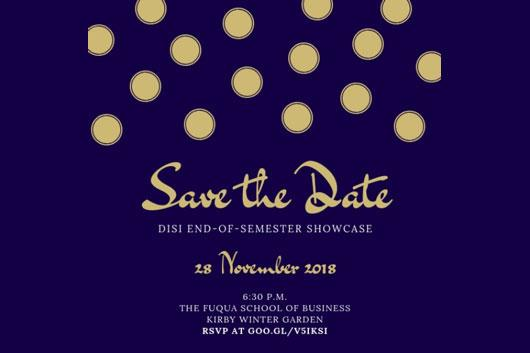 DISI Fall Showcase
