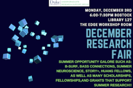 December Research Fair