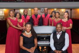 The NCCU Vocal Jazz Ensemble