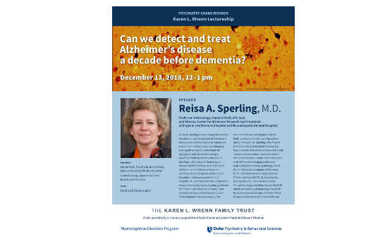 Wrenn Lecture with Dr. Relsa A. Sperling