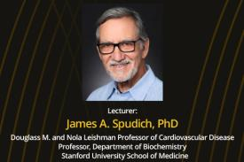 Dr. Spudich, PhD and title.