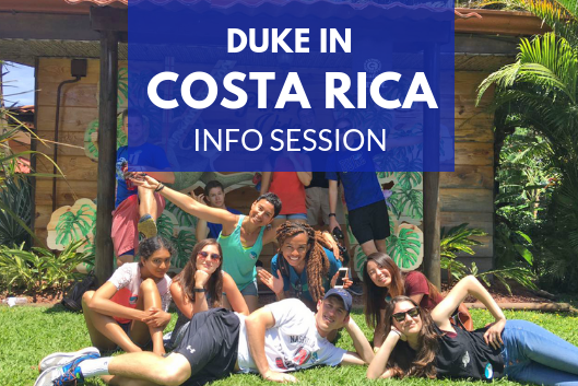 Duke in Costa Rica students